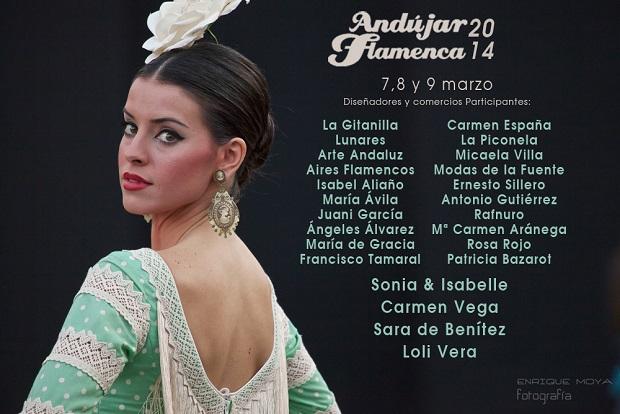 Cartel de presentación de Andújar Flamenca 2014.