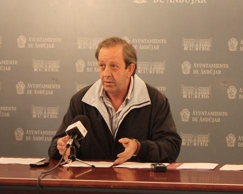 El concejal de Seguridad y Tráfico, Francisco Carmona.