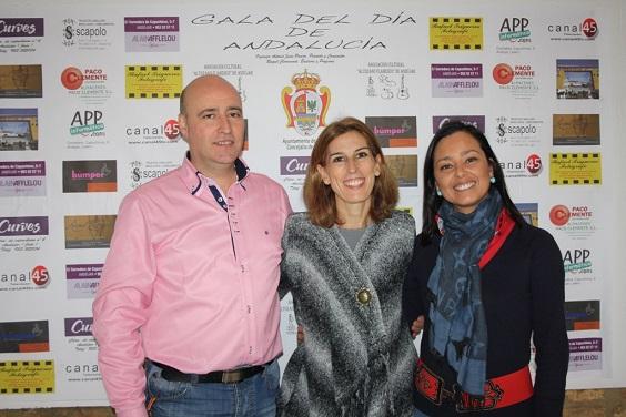 Antonio Jesús Pareja, Delia Gómez y Raquel Claramonte.