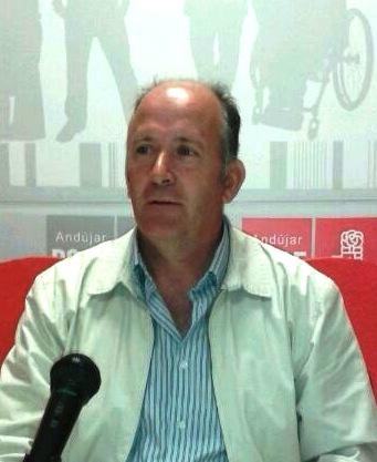 Luis Salas, concejal del grupo municipal socialista en Andújar.