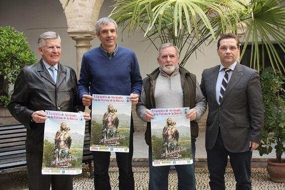 Manuel Luna, Francisco Ureña, Pedro Alcántara y Francisco Huertas.