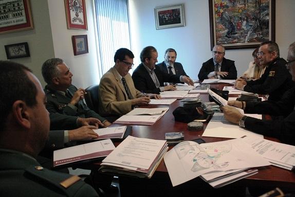 Reunión de la Junta Local de Seguridad, en Andújar.
