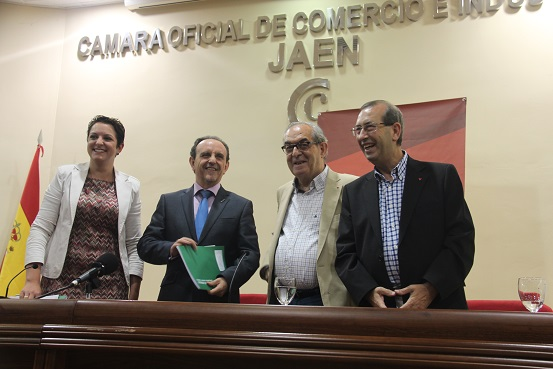 María del Carmen Cantero, Rafael Rodríguez, Eduardo Criado y Juan Antonio Sáez Mata.