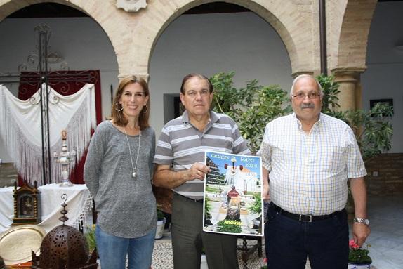 Acto de presentación del concurso de Cruces de Mayo, en Andújar.