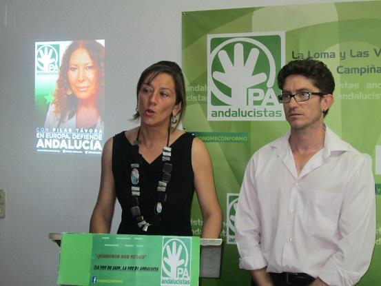 Presentación de la campaña y el programa electoral del PA para las europeas.