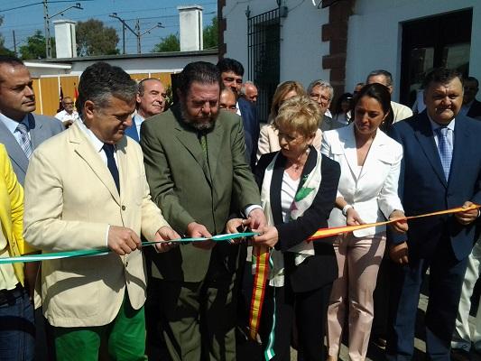 Inauguración de la XVII Feria del Olivo de Montoro.