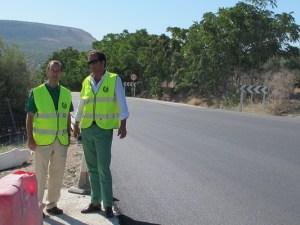 Obras de emergencia en Porcuna (Jaén).