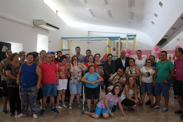 Acto de clausura de la Escuela de Verano de Discapacidad, en Andújar.