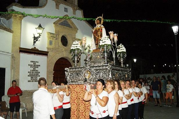 Comienzan las fiestas patronales de Lopera en honor a San Roque.