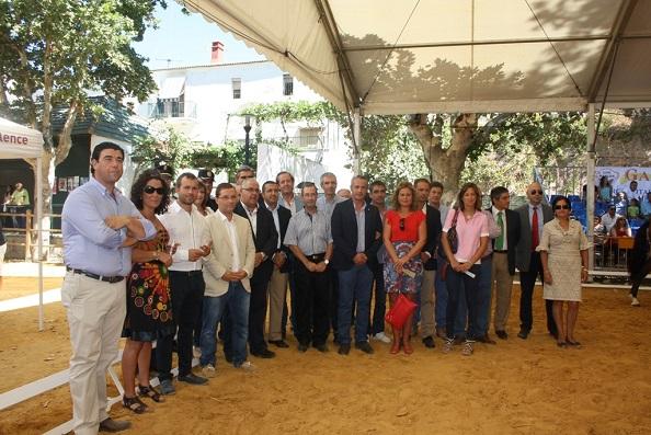 Autoridades asistentes a Anducab 2014.