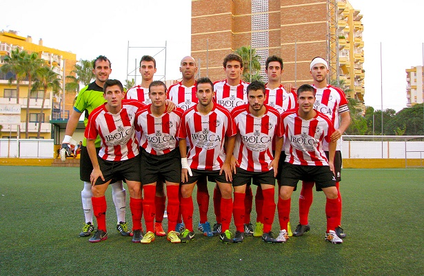 Formación inicial del Atlético Porcuna para este partido.