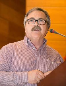 El coordinador provincial de IU, Luis Segura.