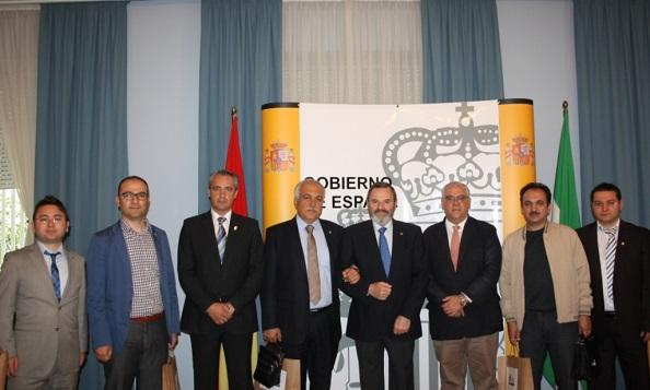 Reunión mantenida en la Subdelegación del Gobierno en Jaén.