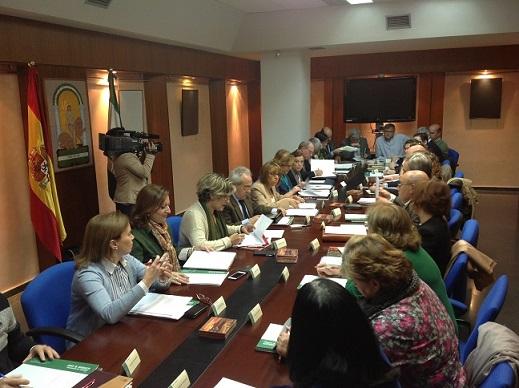 Reunión del Foro Provincial de la Inmigración en Jaén.