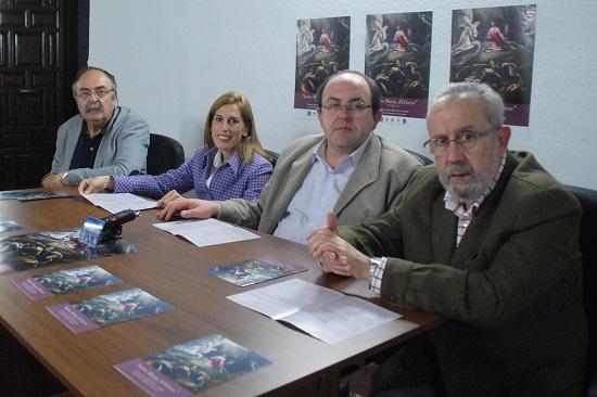 Acto de presentación de las jornadas con motivo del IV centenario del fallecimiento de El Greco.