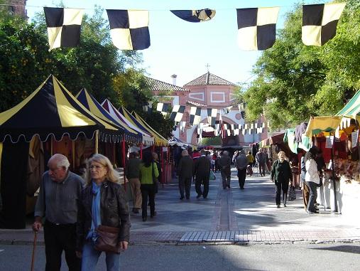 El Mercado Medieval dinamizará este fin de semana las calles de Andújar.