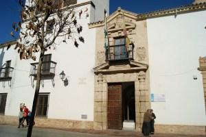 Edificio de los Juzgados en Andújar.