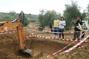 Excavaciones en Lopera.