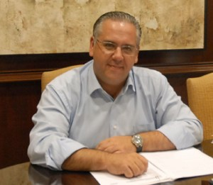El alcalde de Andújar, Jesús Estrella.