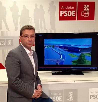 El candidato del PSOE a la alcaldía de Andújar, Francisco Huertas.
