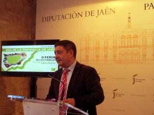 Francisco Reyes, durante la presentación de esta feria.