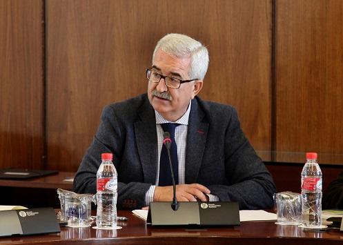 El vicepresidente de la Junta y consejero de la Presidencia, Manuel Jiménez Barrios.
