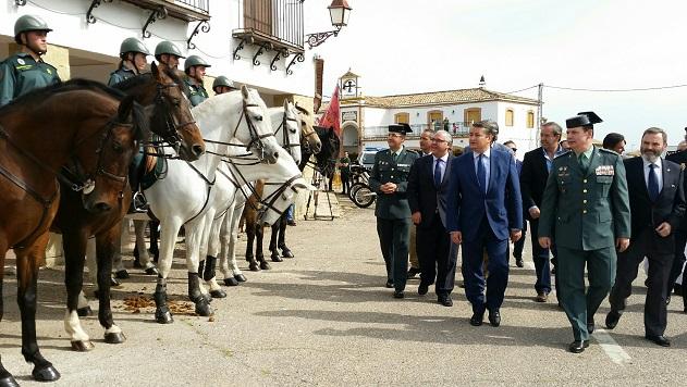 Acto de presentación y puesta en marcha del dispositivo de las Fuerzas y Cuerpos de Seguridad del Estado para la Romería.