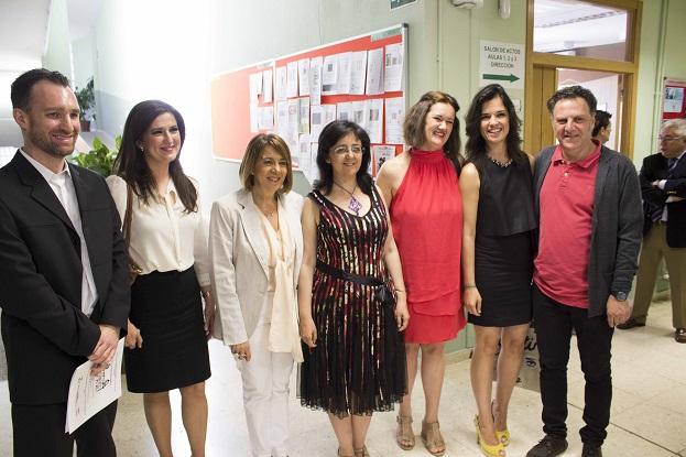 Purificación Gálvez y Yolanda Caballero, en la apertura de la jornada de formación.