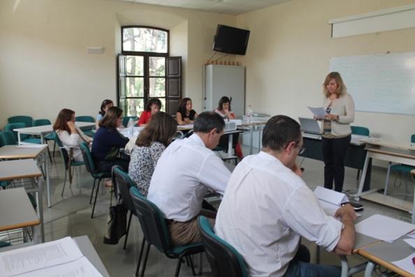 Trabajadores municipales de Andújar asisten a estas jornadas.