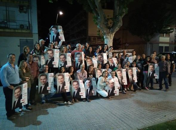 Los socialistas de Andújar inician la campaña electoral para las municipales.