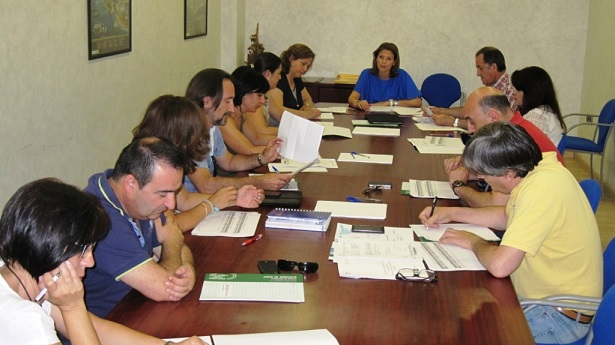 Ana Cobo preside la  Comisión Provincial de Prevención de Riesgos Laborales.
