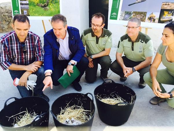 El delegado territorial de Agricultura y Medio Ambiente, Sebastián Quirós, durante el balance que ha realizado de este programa.