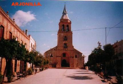 Plaza de la Encarnación, en Arjonilla.