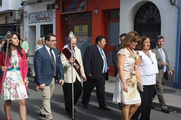Las cofradías llegan a Andújar para participar en la Aparición.