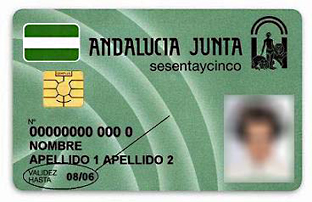 Imagen de la tarjeta. Foto: Junta de Andalucía.