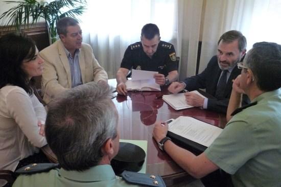 Juan Lillo preside la reunión de coordinación del Plan Director.