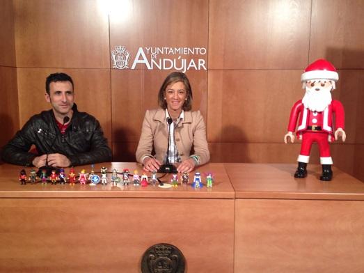 La Concejala de Promoción Local del Ayuntamiento de Andújar, Encarna Camacho, ha presentado esta exposición.