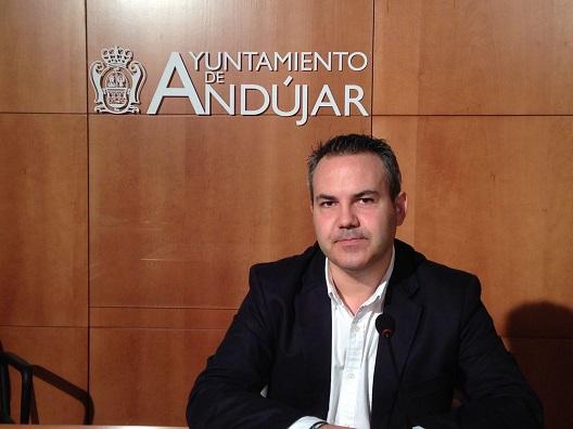 El concejal de Seguridad Ciudadana del Ayuntamiento de Andújar, Jesús del Moral.