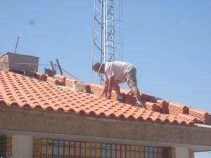 Una obra en el Comarca de Andújar.