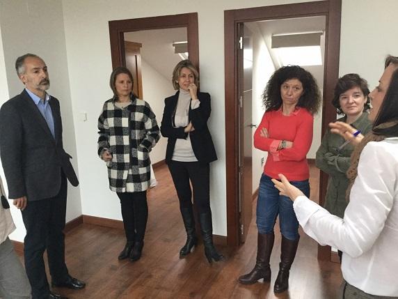 La delegada del Gobierno, Ana Cobo, realizó una visita a este nuevo recurso.