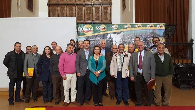 Integrantes de la nueva ejecutiva de COAG-Jaén.