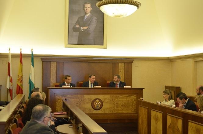 Una imagen de la reunión sobre el Plan Cerro del Cabezo.