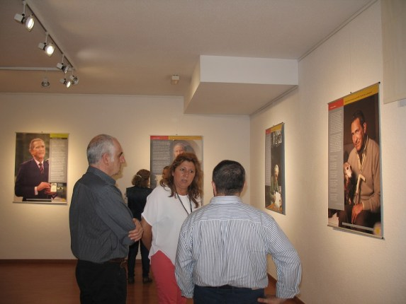 Salazar. Apertura exposición Antonio Gala 24-05-16