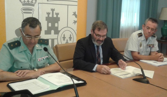 Acto de presentación del dispositivo preparado para las Elecciones Generales del próximo domingo en la provincia de Jaén.