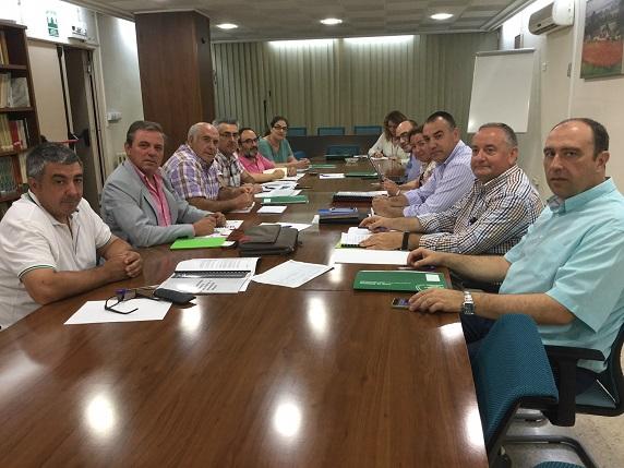 Acto de constitución de la Mesa Provincial de Producción Ecológica en Jaén.
