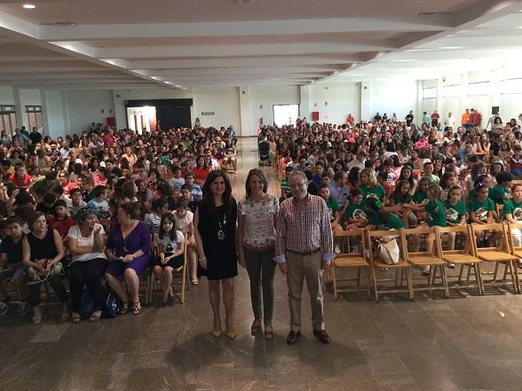 La delegada del Gobierno, Ana Cobo, ha clausurado este programa acompañada de la delegada territorial de Educación, Yolanda Caballero.