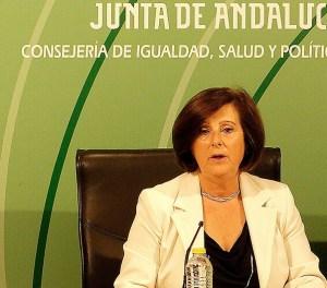La consejera de Igualdad y Políticas Sociales, María José Sánchez Rubio. Foto: junta de Andalucía.