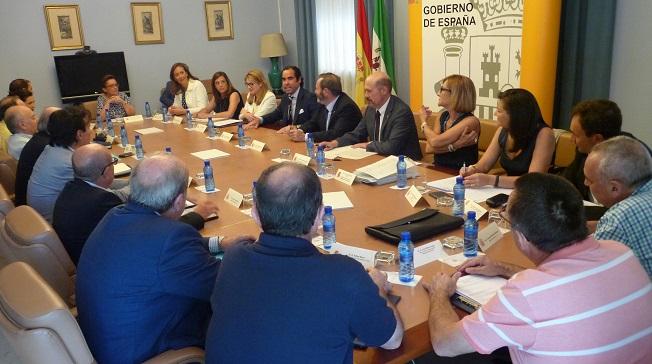 Reunión de la Comisión de Asistencia al Subdelegado.