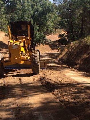 El Ayuntamiento de Andújar realiza obras de mejora ambiental.