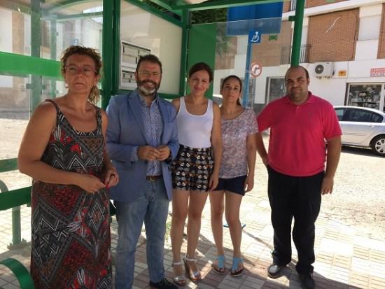 Carmen Torres, Rafael Valdivielso, Isabel Uceda, Sara Lara y Manuel Jesús Uceda.
